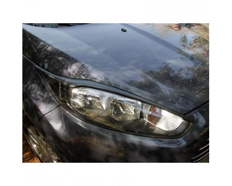Koplampspoilers Ford Fiësta VII Facelift 2013-2017 (ABS)