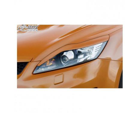 Koplampspoilers Ford Focus II Facelift 2008-2011 (ABS)