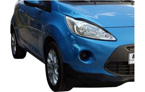 Koplampspoilers Ford Ka II 12/2008- (ABS)