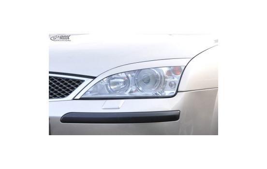 Koplampspoilers Ford Mondeo 2001-2007 (ABS)