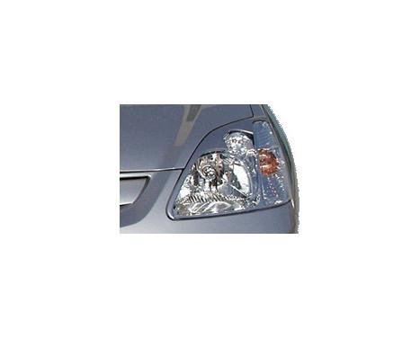 Koplampspoilers Honda Civic HB 3/5-deurs 2001-2005, Afbeelding 2