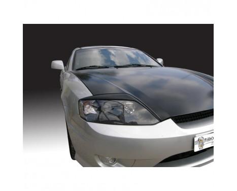 Koplampspoilers Hyundai Coupé 2002-2008 (ABS)