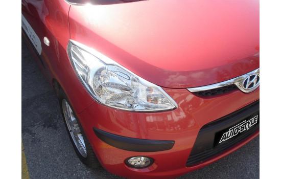 Koplampspoilers Hyundai i10 2008-2010 (ABS)