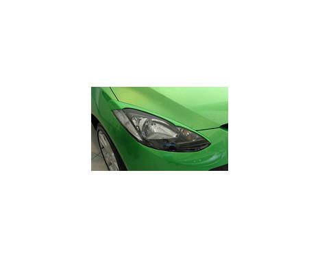 Koplampspoilers Mazda 2 2007- (ABS), Afbeelding 2