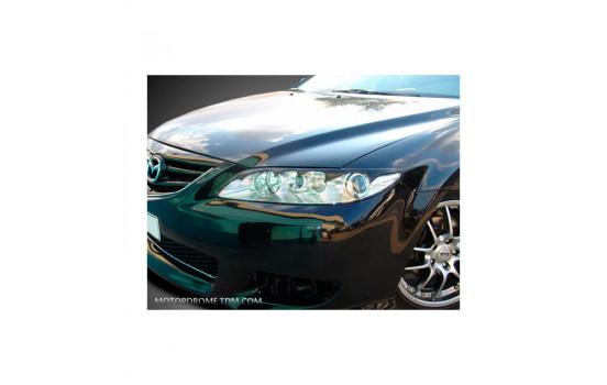 Koplampspoilers Mazda 6 2002-2007 (ABS)