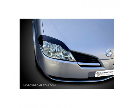 Koplampspoilers Nissan Primera 2002-2006 (ABS)