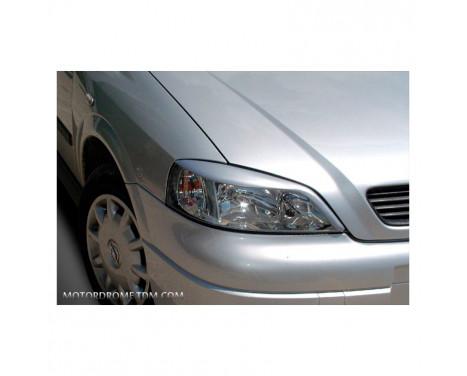 Koplampspoilers Opel Astra G 1998-2003 (ABS)