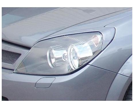 Koplampspoilers Opel Astra H GTC 2005-2009 (ABS)