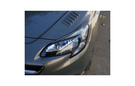 Koplampspoilers Opel Corsa E 2014- (ABS)