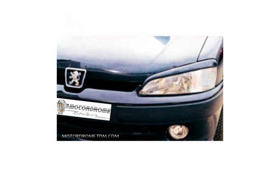 Koplampspoilers Peugeot 106 1996- (ABS)