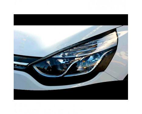 Koplampspoilers Renault Clio IV 2012- - Bovenzijde (ABS)
