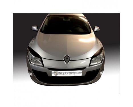 Koplampspoilers Renault Megane III 2008-2015 (ABS)