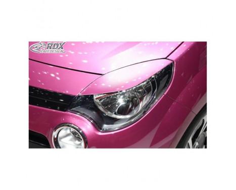 Koplampspoilers Renault Twingo II Facelift 2012-2014 (ABS)