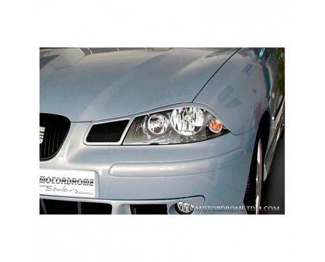 Koplampspoilers Seat Ibiza 6L 2002-2008 (ABS)