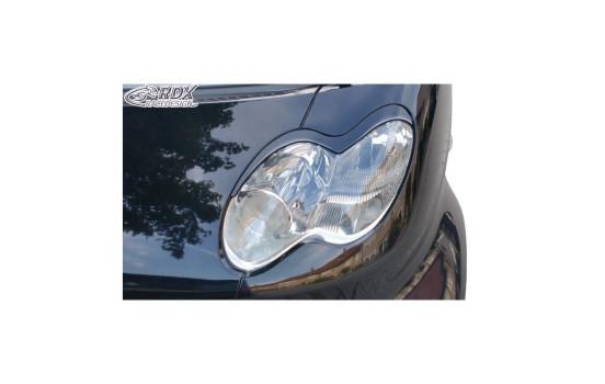Koplampspoilers Smart C450 Facelift 2003-2007 (ABS)