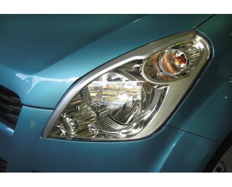 Koplampspoilers Suzuki Splash 2008- (ABS)