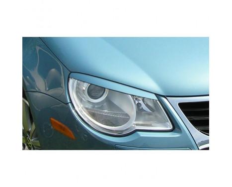 Koplampspoilers Volkswagen Eos 1F -2011 (ABS)