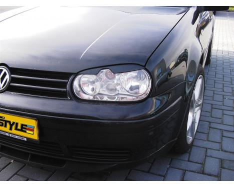 Koplampspoilers Volkswagen Golf IV 1998-2003 (ABS)