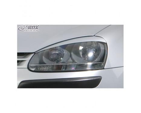 Koplampspoilers Volkswagen Golf V 2003-2008 & Jetta 2005-2010 (ABS)