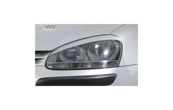 Koplampspoilers Volkswagen Golf V 2003-2008 & Jetta 2005-2010 'X-Treme' (ABS)