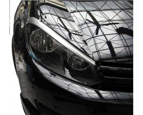 Koplampspoilers Volkswagen Golf VI 2008-2012 (ABS)