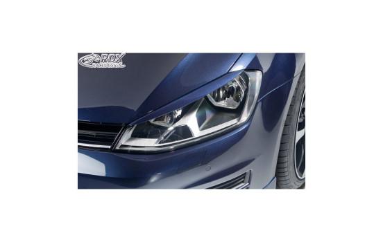 Koplampspoilers Volkswagen Golf VII 2012-2017 (ABS)