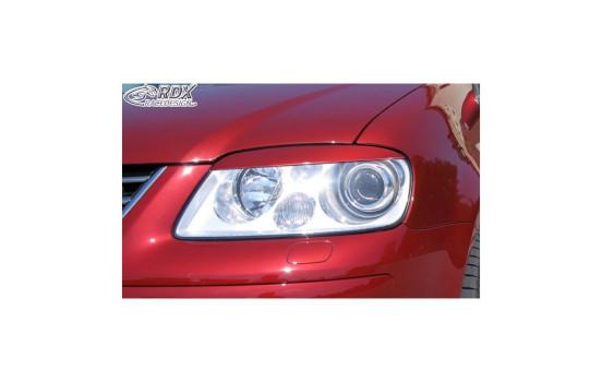 Koplampspoilers Volkswagen Touran 1T 2003-2006 & Caddy 2004-2010 (ABS)