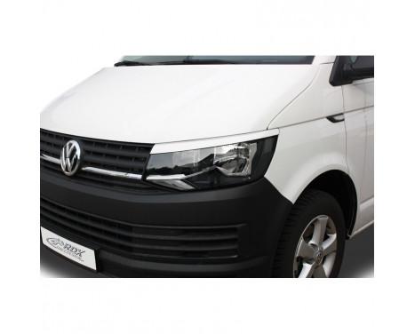 Koplampspoilers Volkswagen Transporter T6 2015- (ABS)