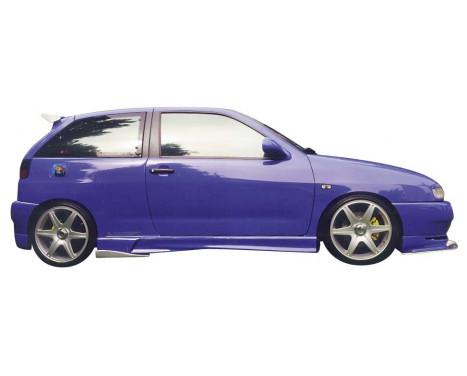 Carcept Voorspoiler Seat Ibiza 6K 1996-1999 'Basic' excl. Windsplitter, Afbeelding 2