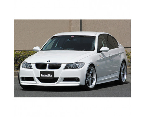 Chargespeed Voorspoiler BMW 3-Serie E90/E91 Sedan/Touring 'M-Sports' 2005- 'Bottomline' (FRP)