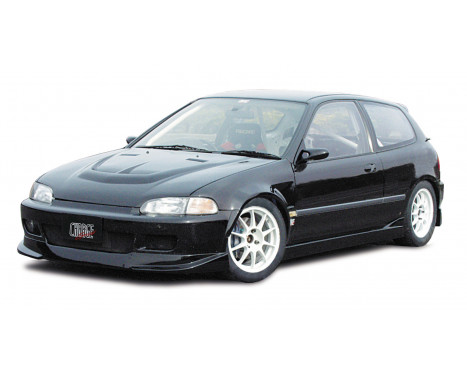 Chargespeed Voorspoiler Honda Civic EG HB/Cpé 1992-1995 (FRP) Type2, Afbeelding 2