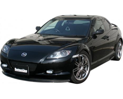 Chargespeed Voorspoiler Mazda RX-8 SE3P BottomLine (FRP), Afbeelding 2