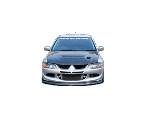 Chargespeed Voorspoiler Mitsubishi Lancer EVO 8 CT9A BottomLine (FRP)