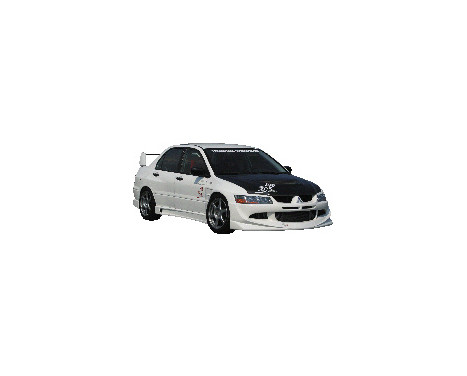 Chargespeed Voorspoiler Mitsubishi Lancer EVO 8 CT9A, Afbeelding 2