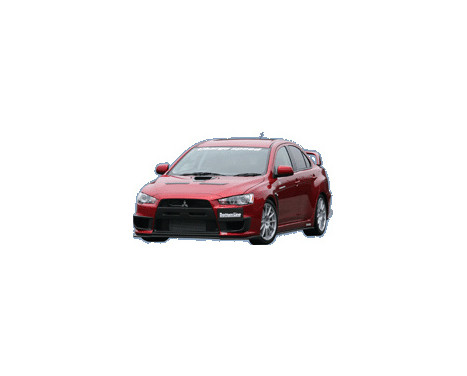 Chargespeed Voorspoiler Mitsubishi Lancer Evo X CZ4A Bottomline (FRP), Afbeelding 2