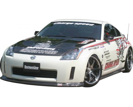 Chargespeed Voorspoiler Nissan 350Z Z33 BottomLine (FRP), Afbeelding 2