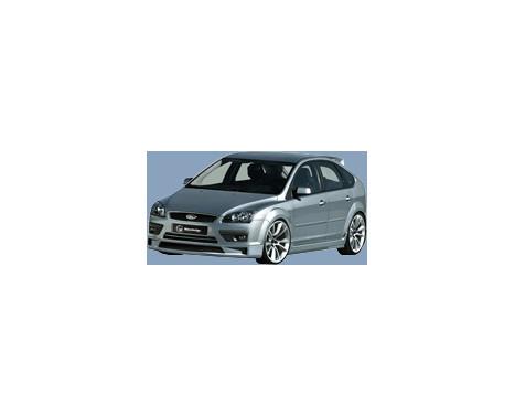 IBherdesign Voorspoiler Ford Focus II 3/5-deurs 2005-2008 'Mad-Xen', Afbeelding 2