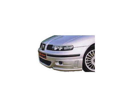 RGM Voorspoiler Seat Leon/Toledo 1M 1999-2005 + Luchtinlaten, Afbeelding 2