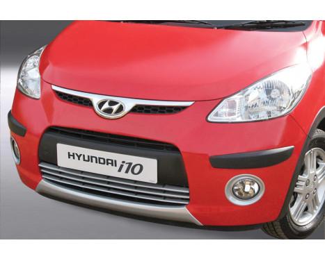 RGM Voorspoiler 'Skid-Plate' Hyundai i10 2008-2011 - zilver (ABS)