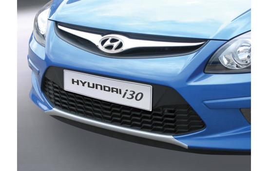RGM Voorspoiler 'Skid-Plate' Hyundai i30 HB/CW 2010-2013 - zilver (ABS)