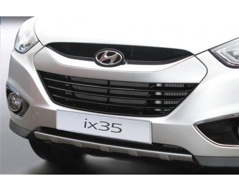RGM Voorspoiler 'Skid-Plate' Hyundai ix35 3/2010- - zilver (ABS)