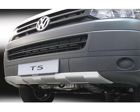 RGM Voorspoiler 'Skid-Plate' Volkswagen Transporter T5 2003-2015 - Zilver (ABS)