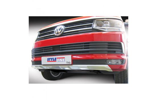 RGM Voorspoiler 'Skid-Plate' Volkswagen Transporter T6 2015- Zilver