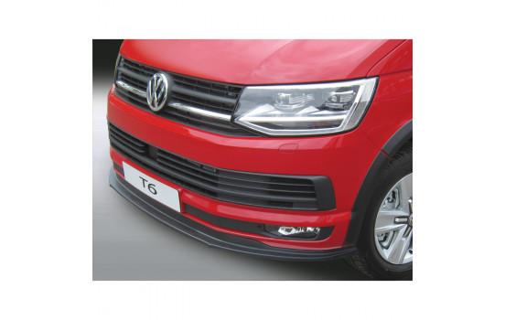 RGM Voorspoilerlip Volkswagen Transporter T6 2015- Zwart
