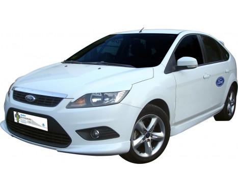 Voorspoiler (Corners) Ford Focus II 3/5-deurs 2008-2011 (ABS)