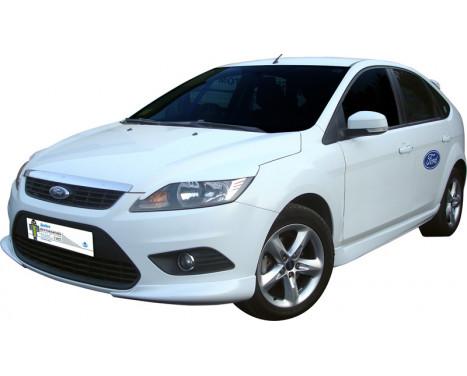 Voorspoiler (Corners) Ford Focus II 3/5-deurs 2008-2011 (ABS), Afbeelding 2