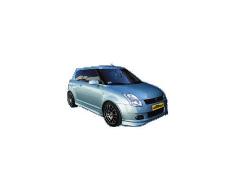 Voorspoiler Corners Suzuki Swift 2005- excl. Facelift, Afbeelding 2