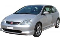 Voorspoiler Honda Civic HB 3/5-deurs 2001-2005 'R-Look' (ABS)