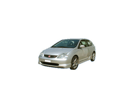 Voorspoiler Honda Civic HB 3/5-deurs 2001-2005 'R-Look' (ABS), Afbeelding 2