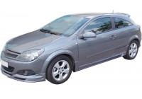 Voorspoiler Opel Astra H GTC 3-deurs 2005-2009 (ABS)